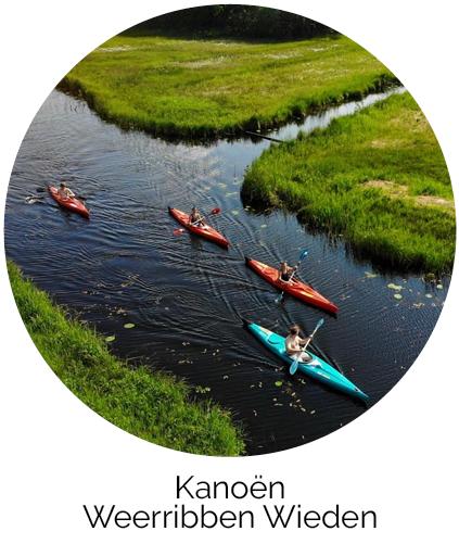 Kanoën Acker Lodges Drenthe